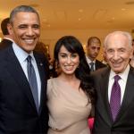 Rita with President Obama