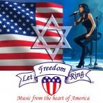 rita singing-usa-flag-israel-star-LFR2